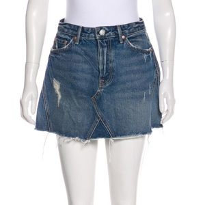 GRLFRND denim skirt